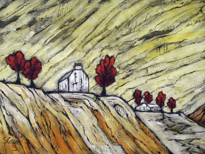 The Old House painting by artist Steve CAPPER
