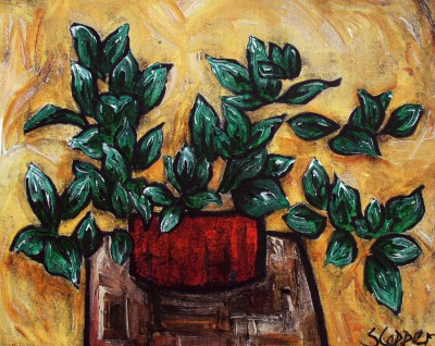 Plant painting by artist Steve CAPPER
