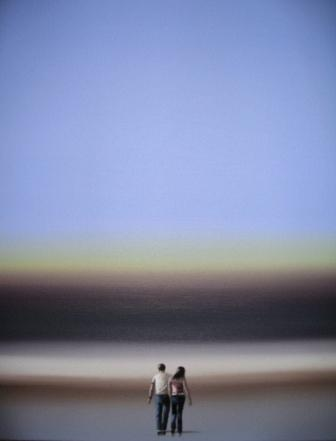 Steve JOHNSTON - Couple by the Sea