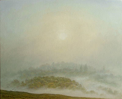 British Artist Steven OUTRAM - The Sun Ascends