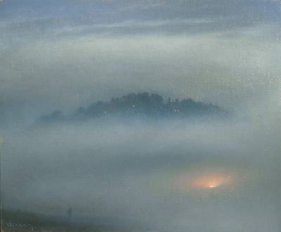 British Artist Steven OUTRAM - Somewhere Near