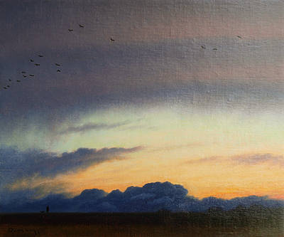 British Artist Steven OUTRAM - The Break