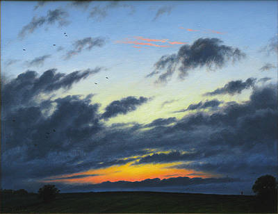 British Artist Steven OUTRAM - The Stragglers