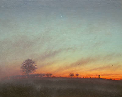 British Artist Steven OUTRAM - Magic Time