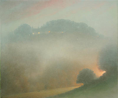 British Artist Steven OUTRAM - Shining through the Veil