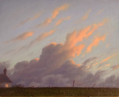 British Artist Steven OUTRAM - The Last Post