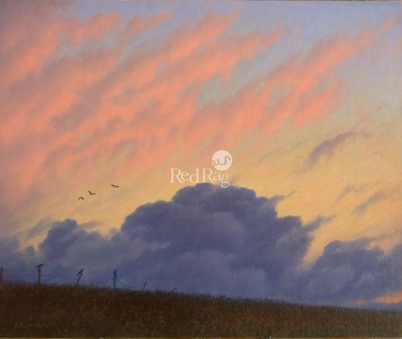 Steven OUTRAM - The Clouds Retreat