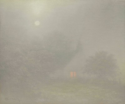 British Artist Steven OUTRAM - The Early Light
