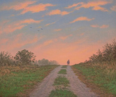 British Artist Steven OUTRAM - It Goes On