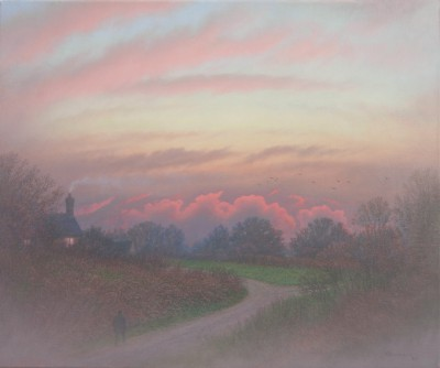 British Artist Steven OUTRAM - The Turning Point