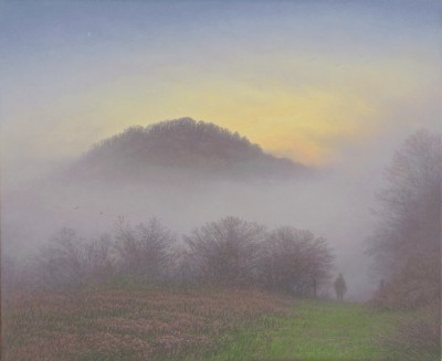 Emerging painting by artist Steven OUTRAM