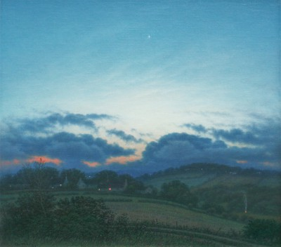 British Artist Steven OUTRAM - The Shortest Night
