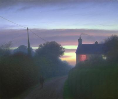 British Artist Steven OUTRAM - The Lights