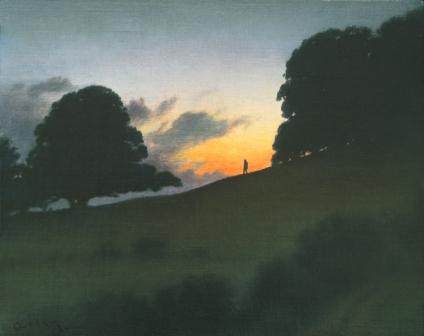 British Artist Steven OUTRAM - Lingering Light