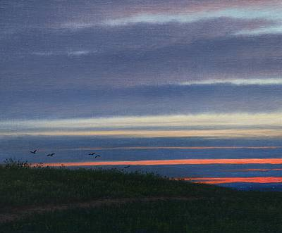 British Artist Steven OUTRAM - Going Across