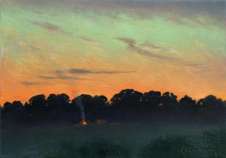 Steven OUTRAM - The Blaze