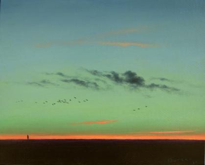 British Artist Steven OUTRAM - Returning
