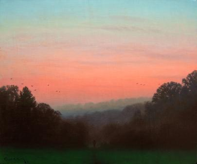 British Artist Steven OUTRAM - Winter Colours