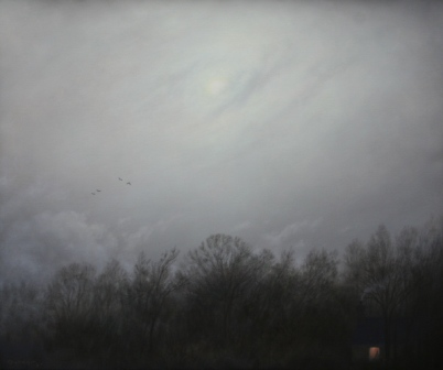 British Artist Steven OUTRAM - Another Beginning (Painting Study)