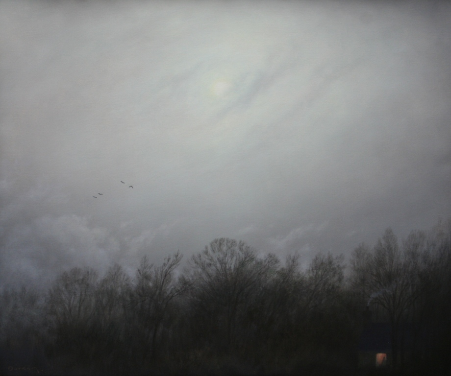 Steven OUTRAM - Another Beginning (Painting Study)