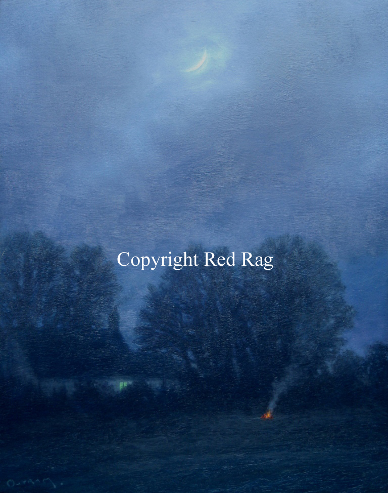 Steven OUTRAM - The Moon and my Fire