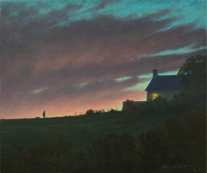 Steven OUTRAM - The Unexpected Glow