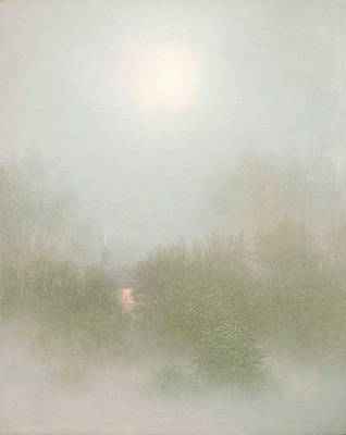 British Artist Steven OUTRAM - The Morning Light