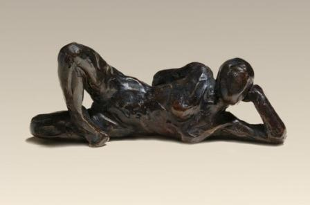 British Artist Stuart ANDERSON - Reclining Figure (small)