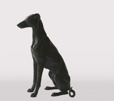 Stuart ANDERSON - Sitting Greyhound-Lurcher - 7/15