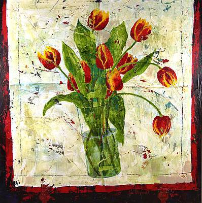 Sue FITZGERALD - Linen and Tulips