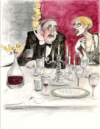 Limited Edition Prints Artist Sue Macartney Snape - The Deaf Guest