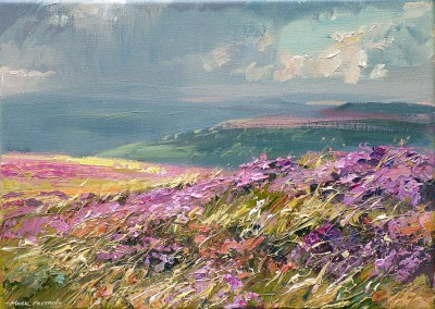 Mark PRESTON - Sunshine and Showers, Beeley Moor