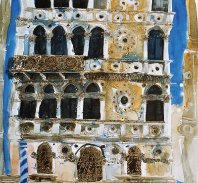 Limited Edition Prints Artist Susan Brown - Gossamer Facade, Venice