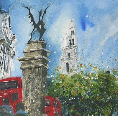 Symbol of the City, London painting by artist Susan BROWN