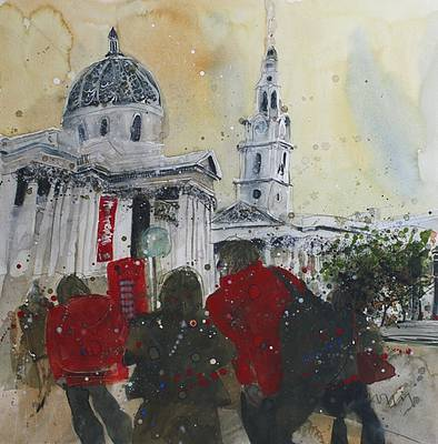 British Artist Susan BROWN - London Lives