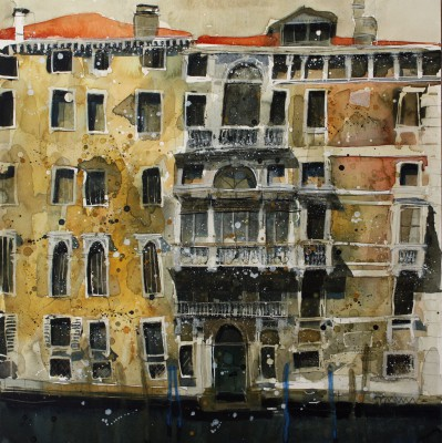 Treasures of a Decadent Past, Venice painting by artist Susan BROWN