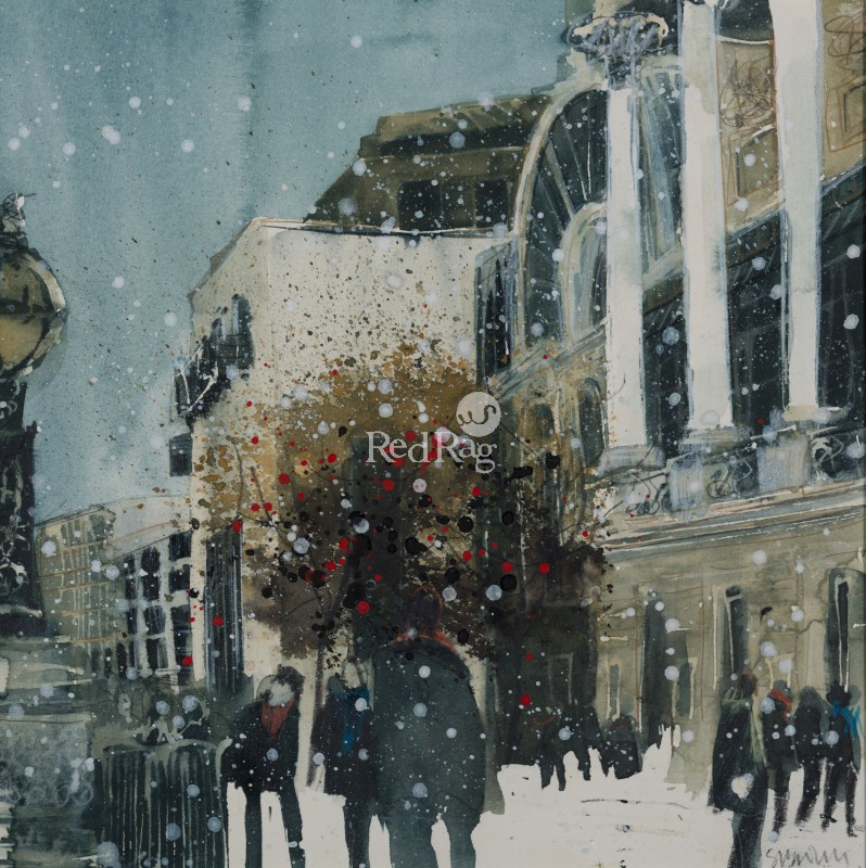 Susan BROWN - Passing by the Royal Opera House, London