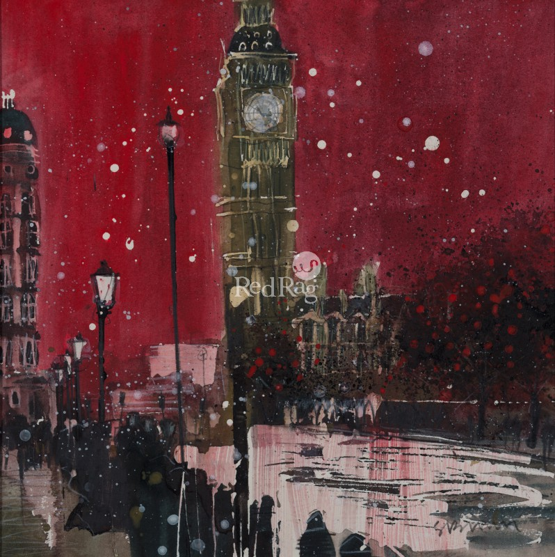 Susan BROWN - First Snow of Winter, Big Ben