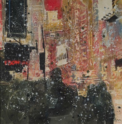 British Artist Susan BROWN - Winter, New York