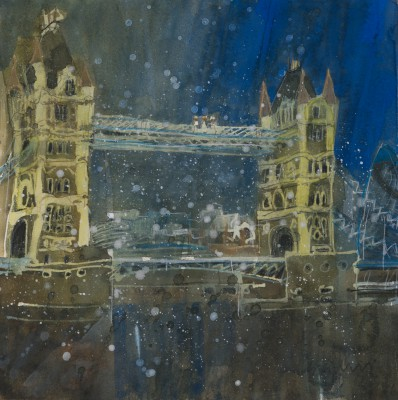 Susan BROWN - Dusk, Tower Bridge