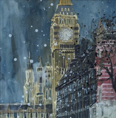 Susan BROWN - Winter Night Big Ben, London