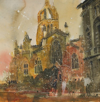 Susan BROWN - First Snows, High Kirke of Edinburgh