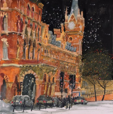 Susan BROWN - Late Night Arrivals, St Pancras