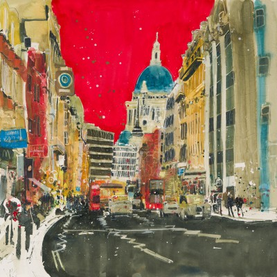 Susan BROWN - Hustle and Bustle - London