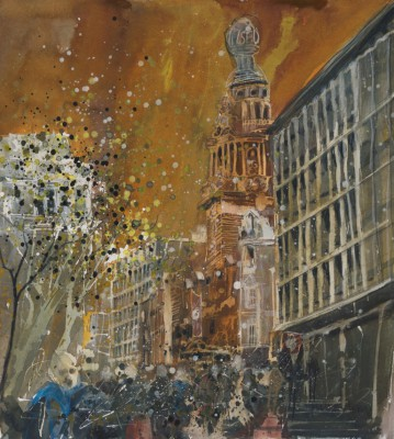 Susan BROWN - Evening Rush, Coliseum - London
