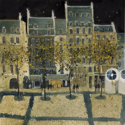 Susan BROWN - Rue St Martin, Pompidou - Paris