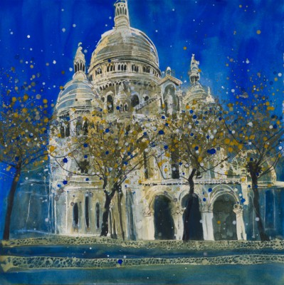 Susan BROWN - Basilique du Sacre-Couer - Paris