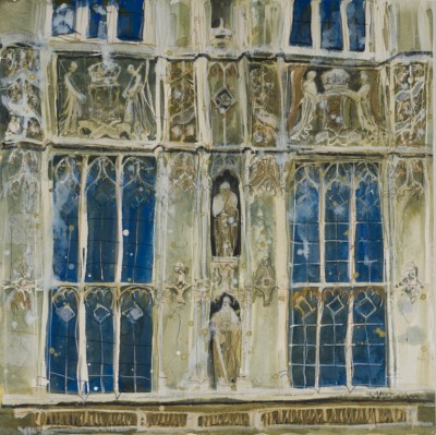 British Artist Susan BROWN - Facade, Houses of Parliament - London