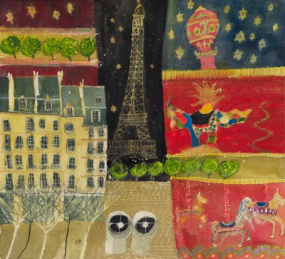 Paris painting by artist Susan BROWN