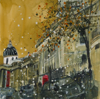 Susan BROWN - Rush Hour Past St Martins in the Fields